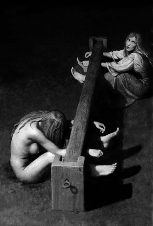 Erotic torture and execution