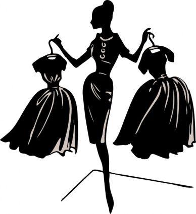 diva silhouette clip art | Various Cliparts clip art - Download free Other vectors