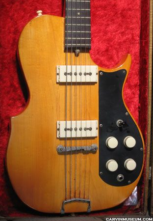 The Carvin Museum Vintage Guitars Gallery Guitars Pinterest