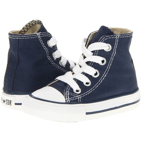 Converse Kids Chuck Taylor All Star Core Hi Infant Toddler Navy, Converse,  Shoes,