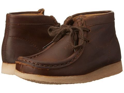 62ebb6c724 Clarks Kids Wallabee (Toddler) Brown Oily - Zappos.com Free Shipping BOTH  Ways