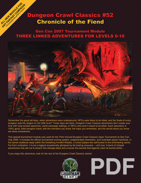 Dungeon Crawl Classics Rpg Pdf