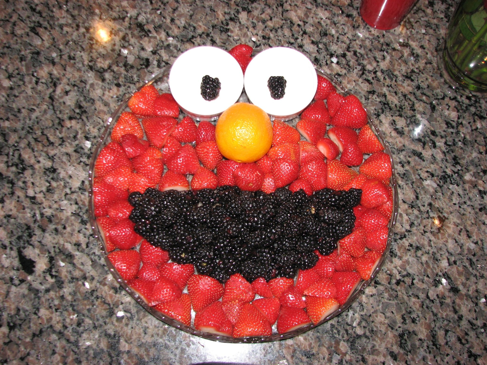 Elmo Fruit Tray Birthday Party Ideas Pinterest Elmo