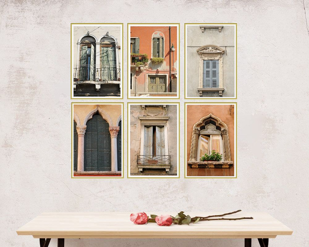 Italy wall art set of wall art italy wall decor venice wall art