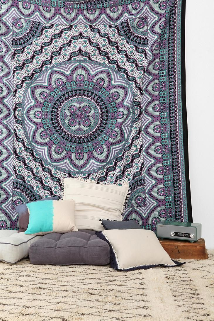Urban outfitters bedroom tapestry - Magical Thinking Royal Medallion Tapestry