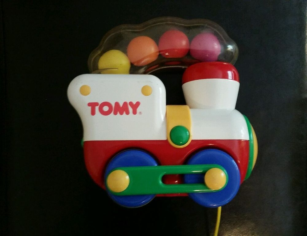 Best Ball Popper Toys For Kids : Tomy train pull string toy preschool quot tall ball