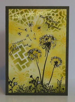 Janny's Cards Creations: Twee nieuwe kaarten