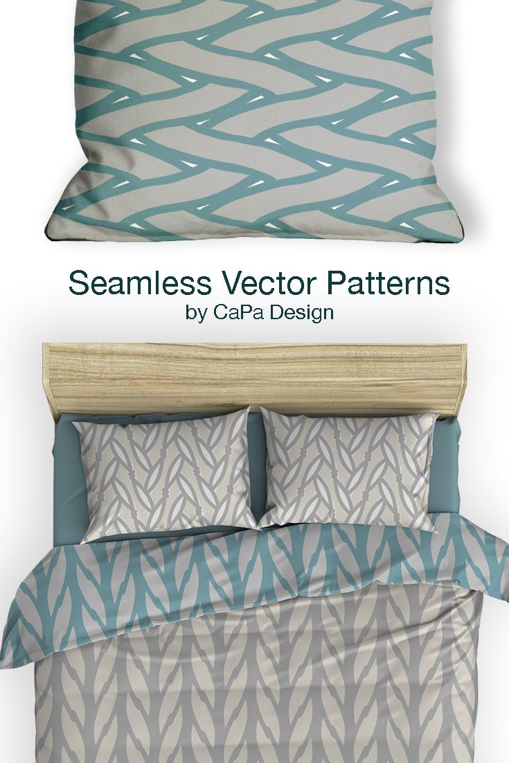 Allover repeating patterns in soft colors from the seafarer