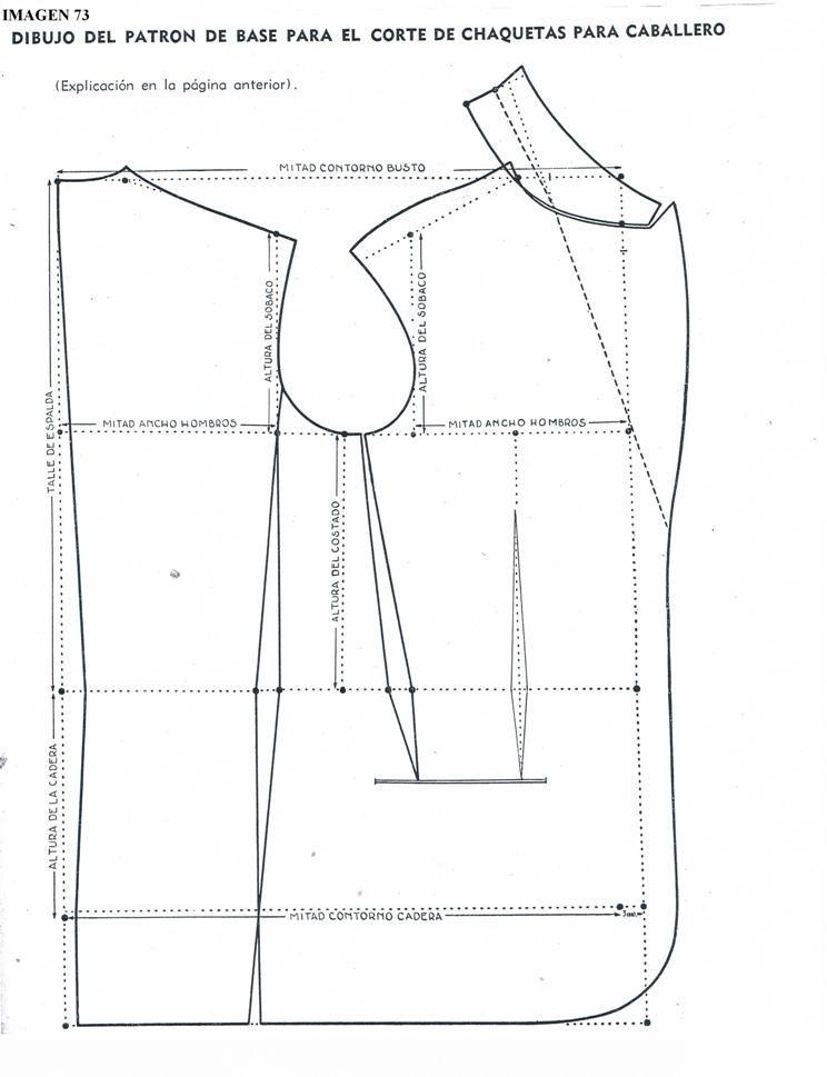 patrones de sacos para hombre - Buscar con Google | Ropa De Trabajo ...