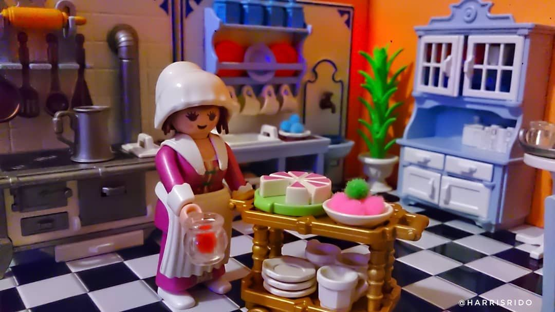 Playmobil 5322 Kitchen Cocina Kochen Cucina Victorian