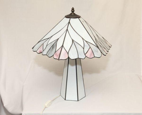 Tiffany glass table lamp #tiffany #lamp