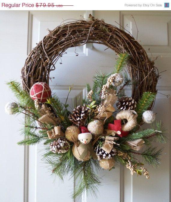 Christmas Wreath, Holiday Wreath, Winter Wreath, Designer Christmas - christmas decorations sale