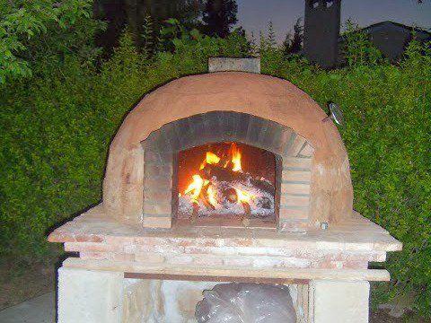 Como hacer un horno a le a paso a paso para pizzas - Materiales para hacer un horno de lena ...