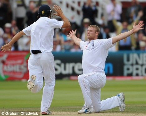 Ashes 2009 Video Special Freddie Flintoff Appears To Have Made The Arm Stretch His Own Here S Sportmail S Guide To The Top 15 Iconic Celebrations Arm Stretches Celebrities Appearance
