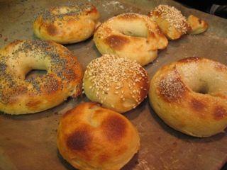 Gluten-free sourdough Bagels!