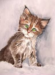 Bildergebnis Fur Katze Gemalt Mit Bildern Katzen Katze Malen