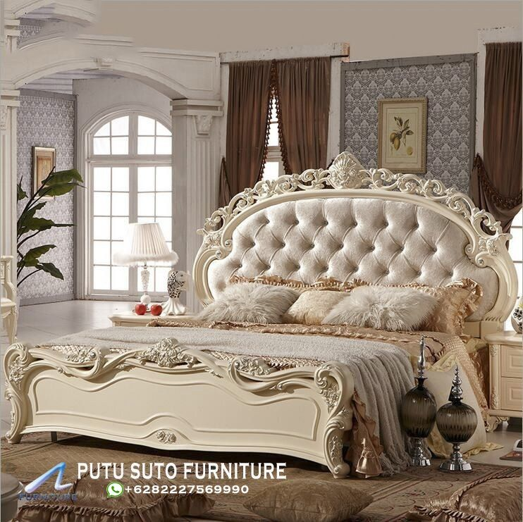 Jual Tempat Tidur Mewah Ukiran Klasik