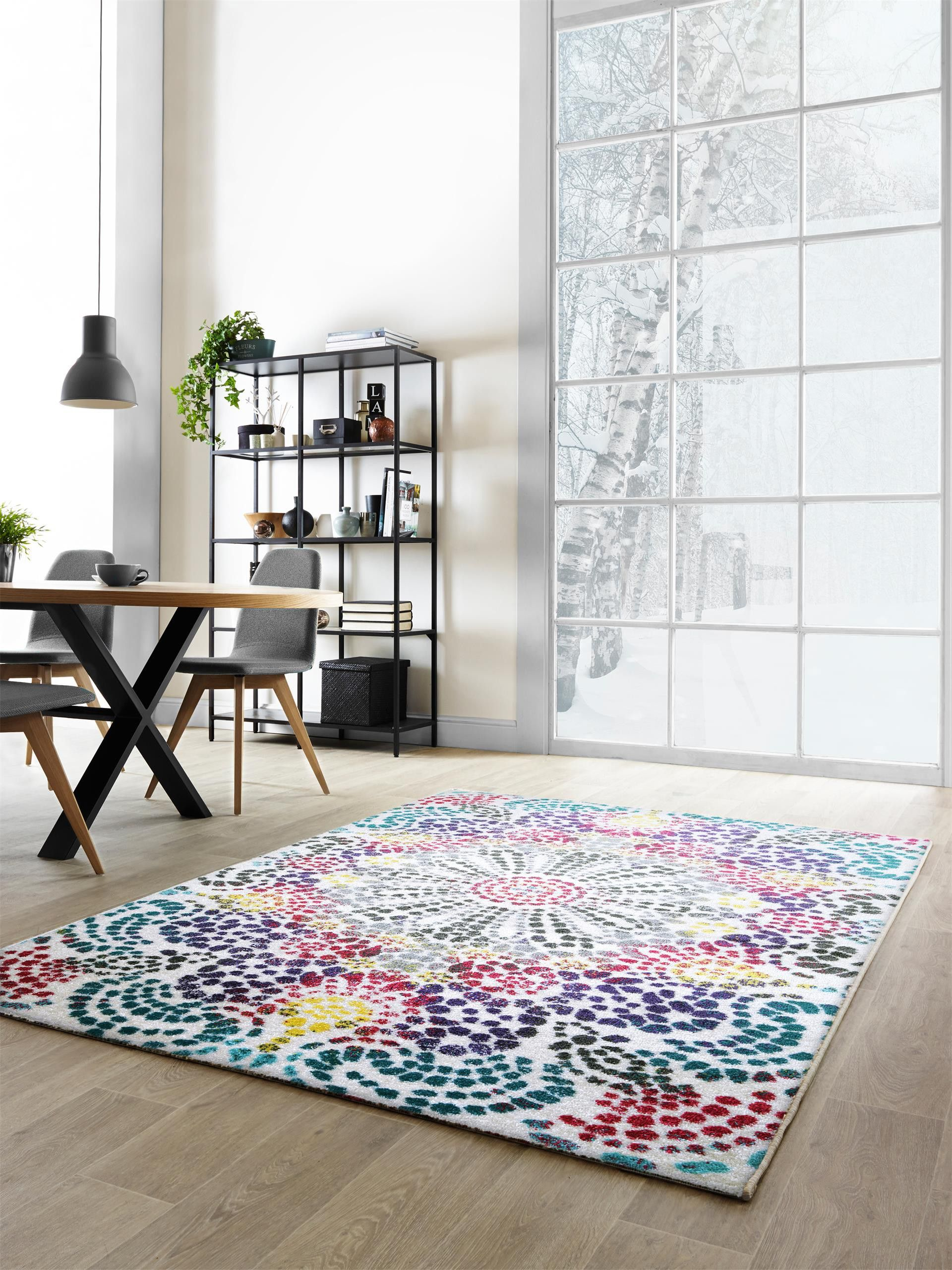 http://www.benuta.de/teppich-arte-mosaic-multicolor.html Farbenprächtiges Design für modernes Wohnen: benuta Teppich Arte Mosaic