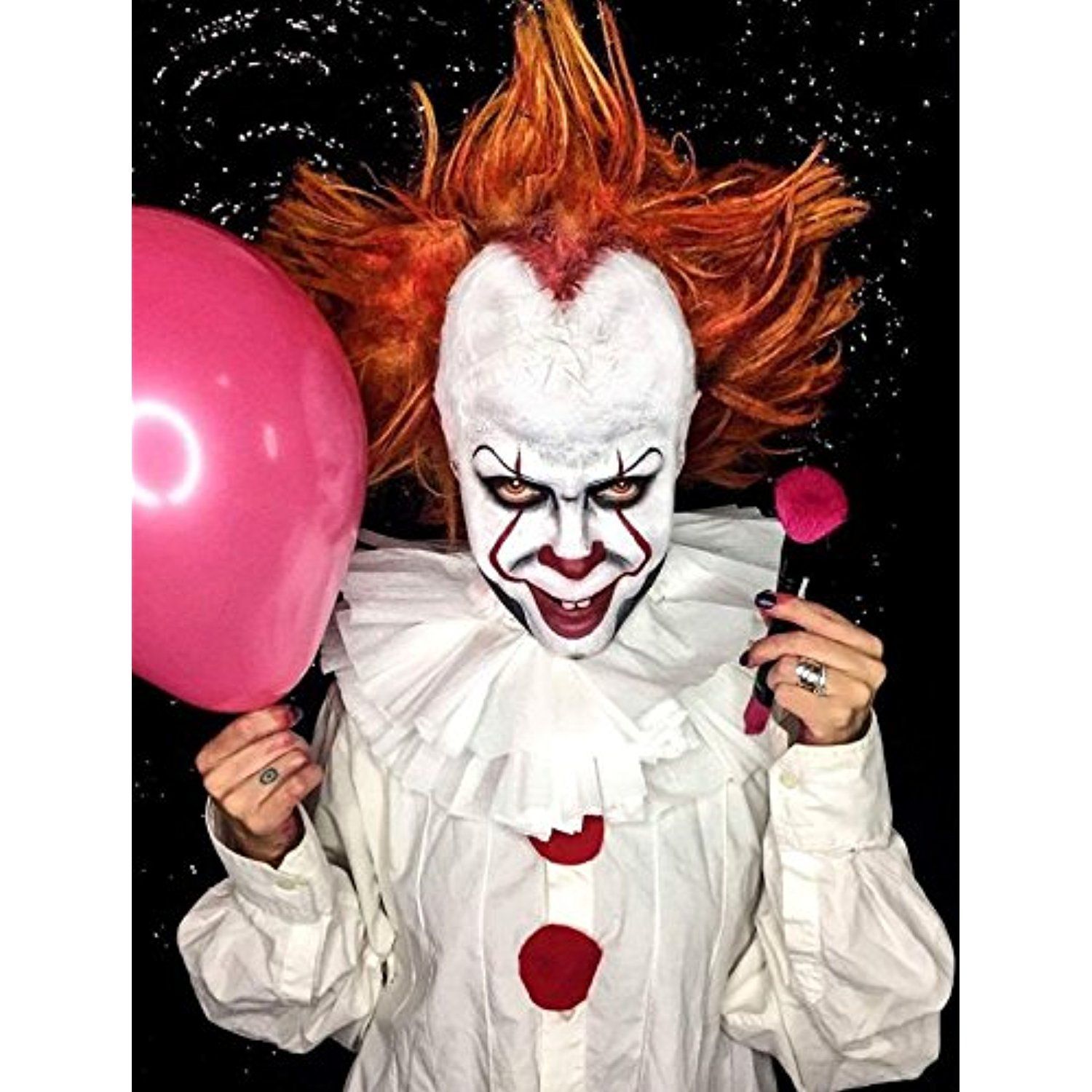 Evil Clown Halloween Makeup Kit – Professional Costume