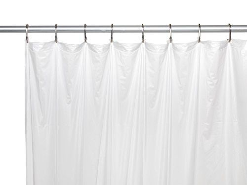 Royal Bath Extra Long 5 Gauge Vinyl Shower Curtain Liner With