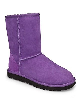 I need purple uggs! UGG Australia Classic Short boots-purple
