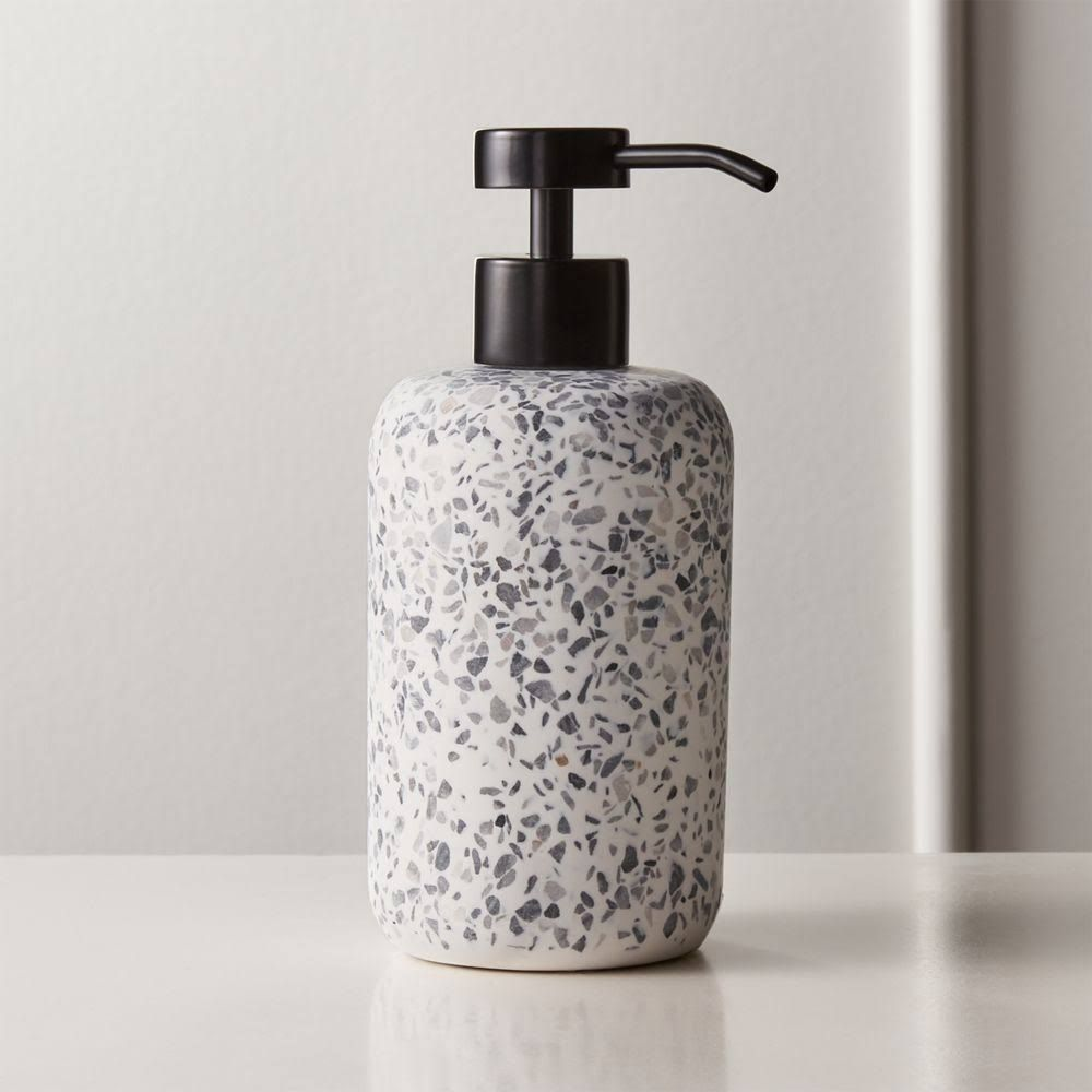Scala Terrazzo Soap Pump Terrazzo Bath Accessories