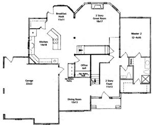 House Plans Of First Floor With A Second Master Suite Houses - Plans with master bedroom on first floor