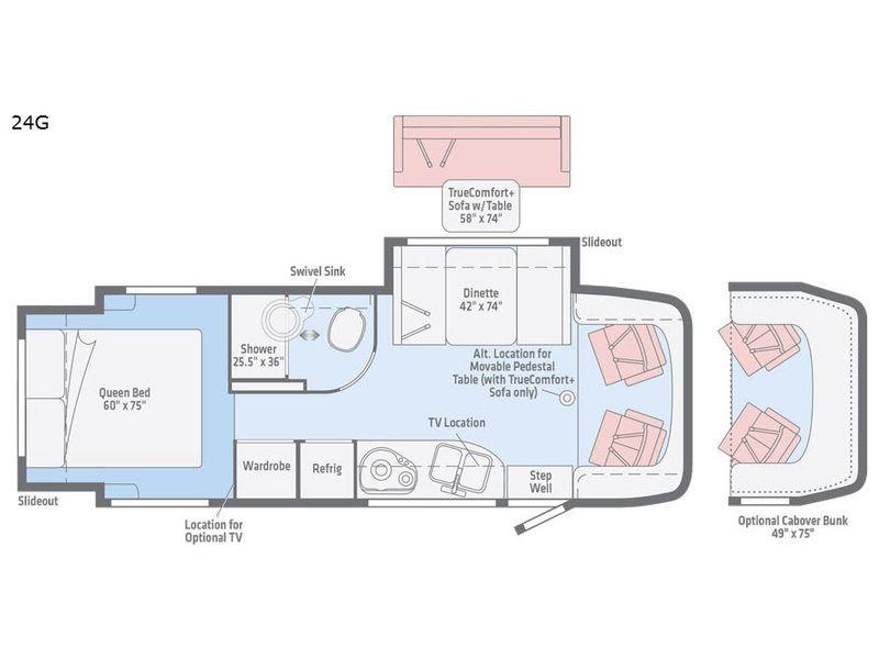Navion Motor Home Class C Diesel Rv Sales 4 Floorplans Rv