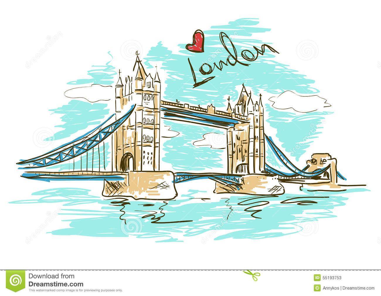 Tower Bridge Clipart London City 15 Tatoos Pinterest Bridge