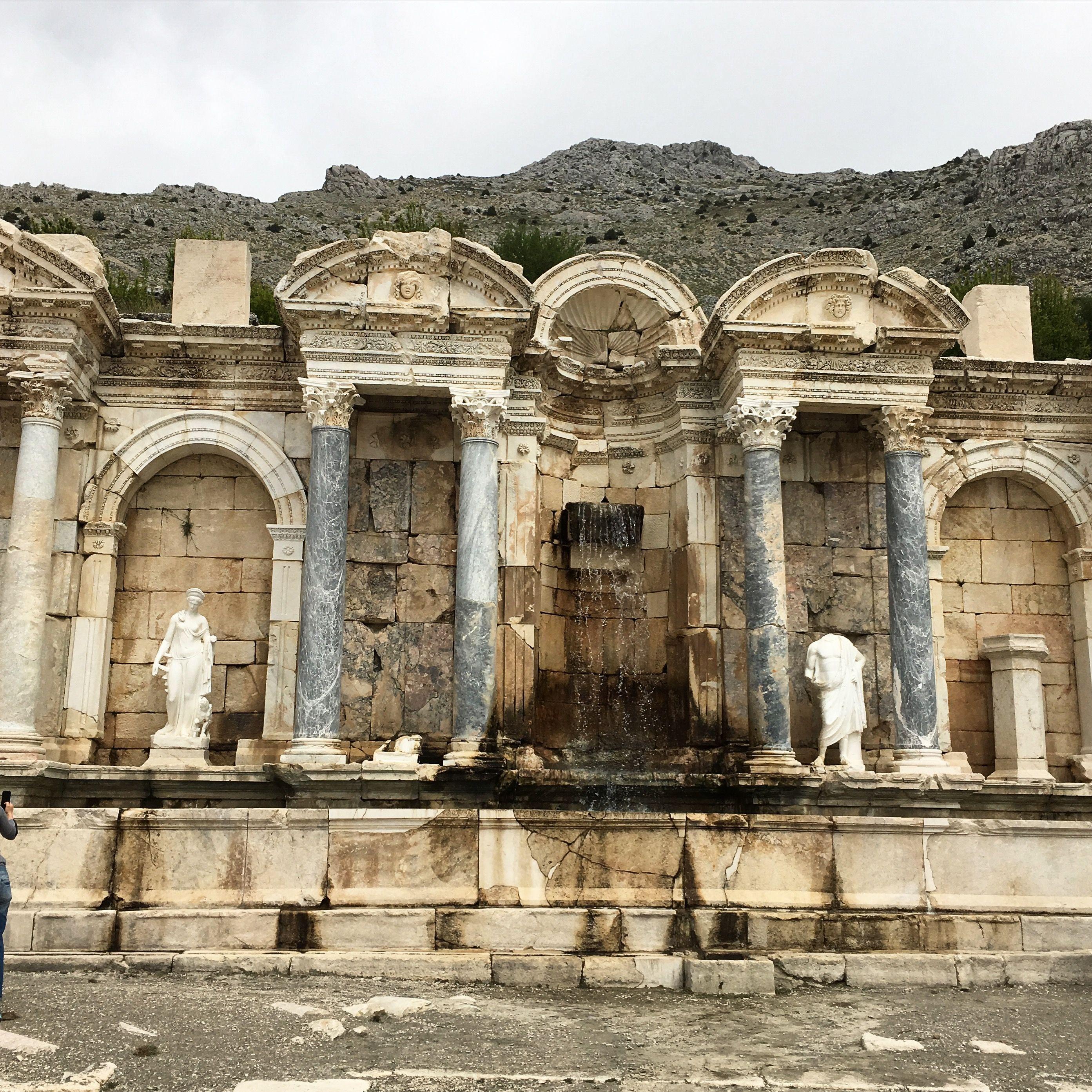 Antoninler Cesmesi Sagalassos Antik Kent Sagalassos Ancient