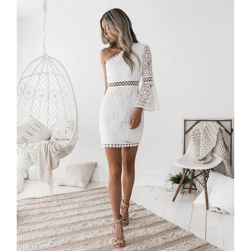 Park Art|My WordPress Blog_White Lace Bodycon Dress Sleeves