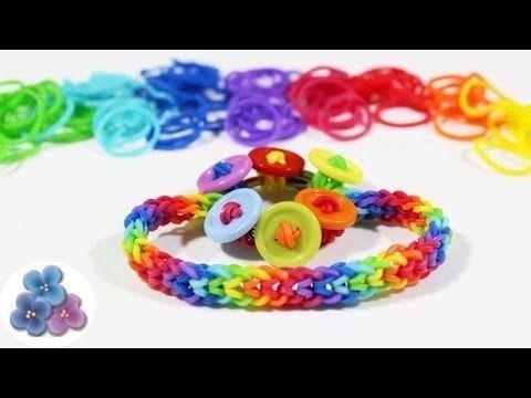 d90fa633cb91 Rainbow Loom Pulseras de Gomas sin Telar Pulseras de Moda Gomitas ...