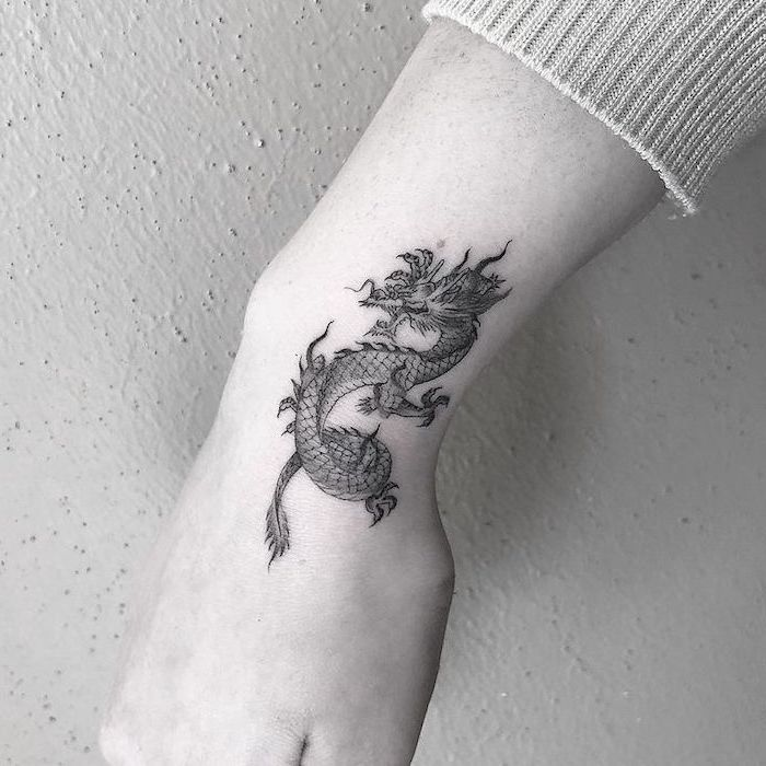▷ 1001+ ideas and examples of the amazingly beautiful dragon tattoo