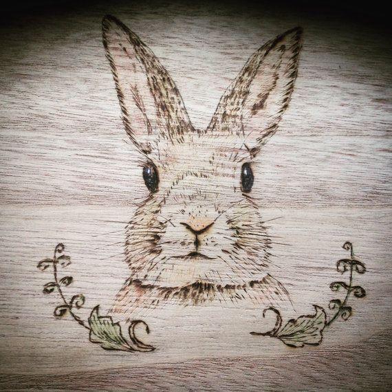 Cute easter bunny picket field medium field rabbit lovers cute easter bunny picket field medium field rabbit lovers pyrography field youngsters negle Gallery