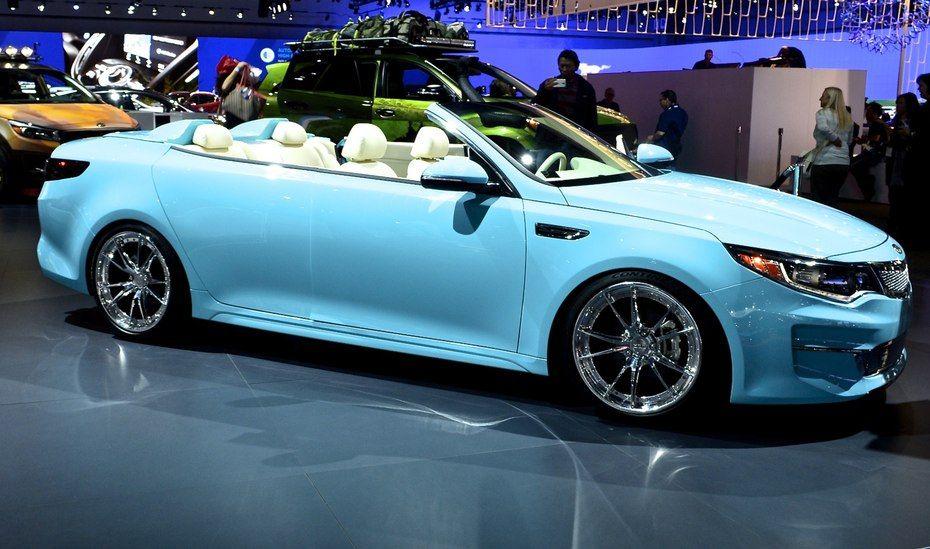 The Florida Inspired 2016 Kia A1a Optima Convertible