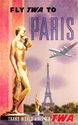 Fly TWA to Paris