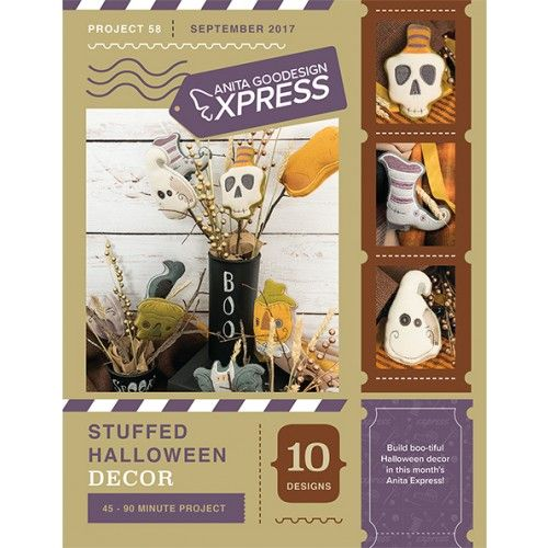 ANITA\u0027S EXPRESS - PROJECT 58 Stuffed Halloween Decor - Early May