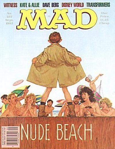 Cover for MAD (EC 1952 serie) #257 - SEPTEMBER 1985