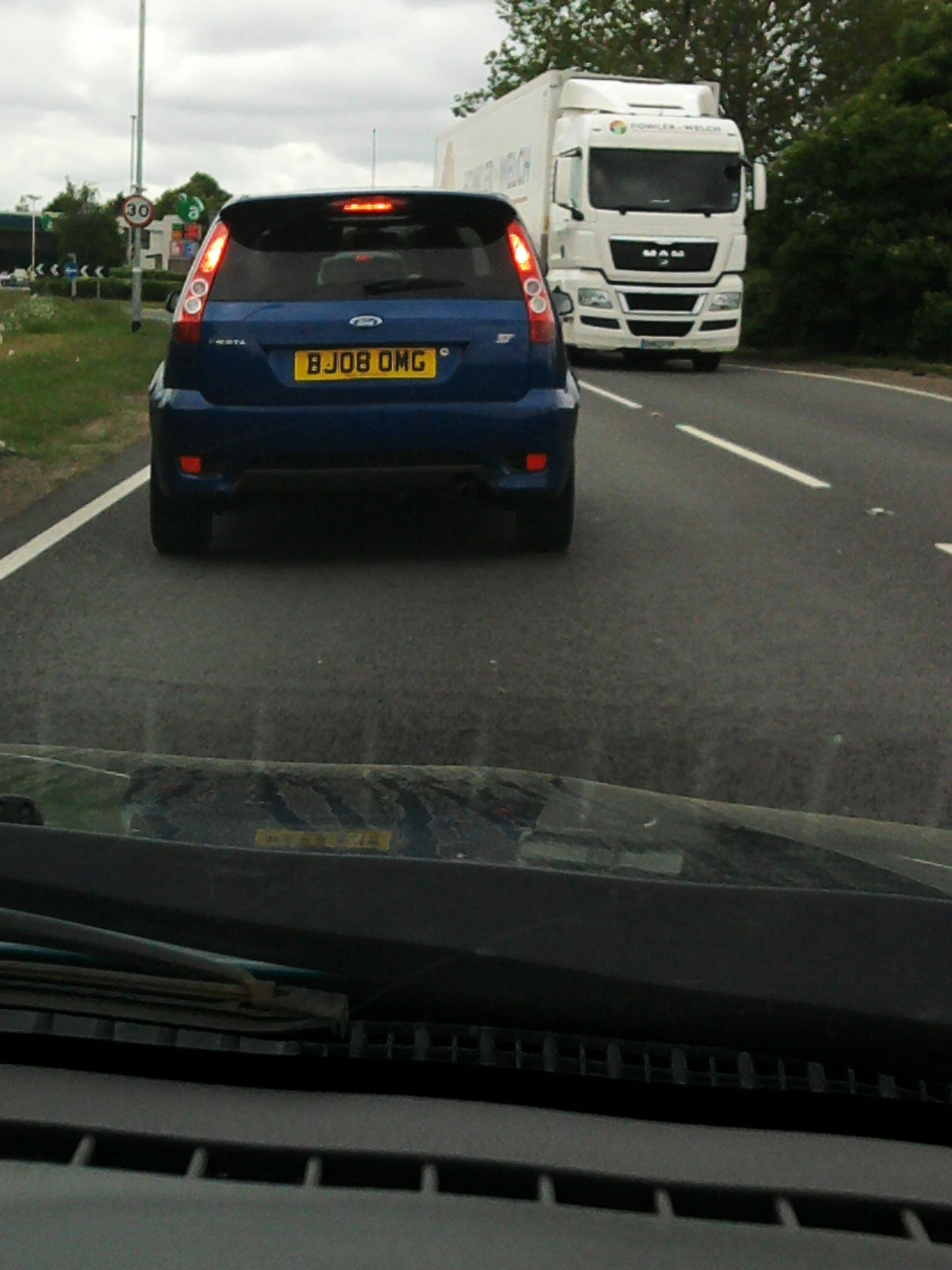 Followed This Car Home One Day And Had To Share His Personalised
