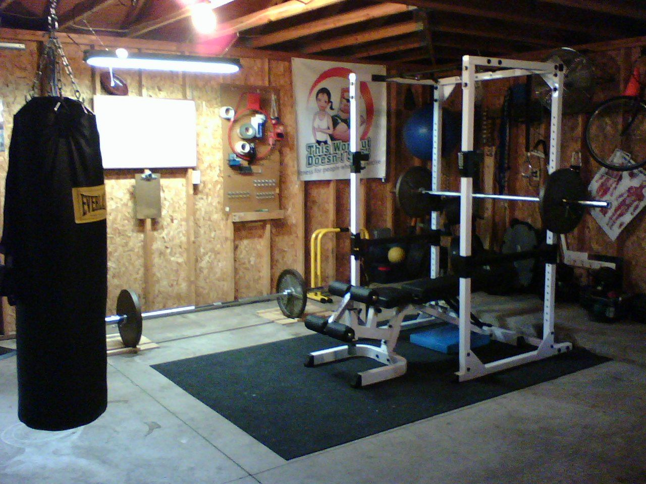 Home Gym Ideas 1000 Images About Gym Ideas On Pinterest Home Gyms Garage Gym  And Power ...
