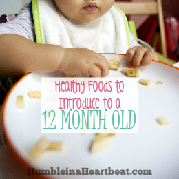 Finger Foods For Babies With Few Teeth One Year