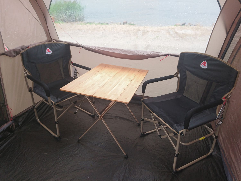 Robens Trekker Camping Table XL beige 2019 folded table