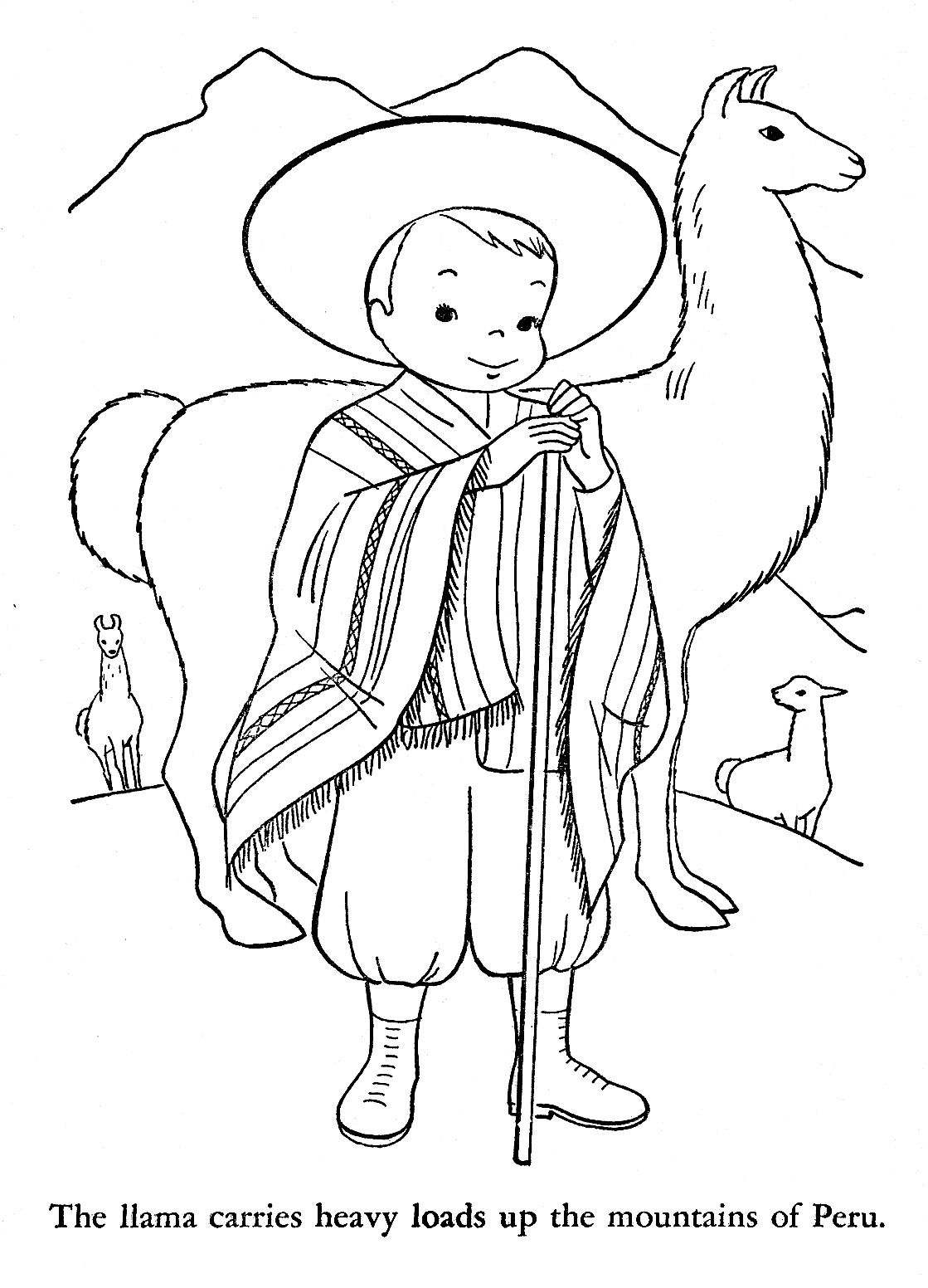 peru 2 jpg 1 119 1 552 pixels coloring pages pinterest peru