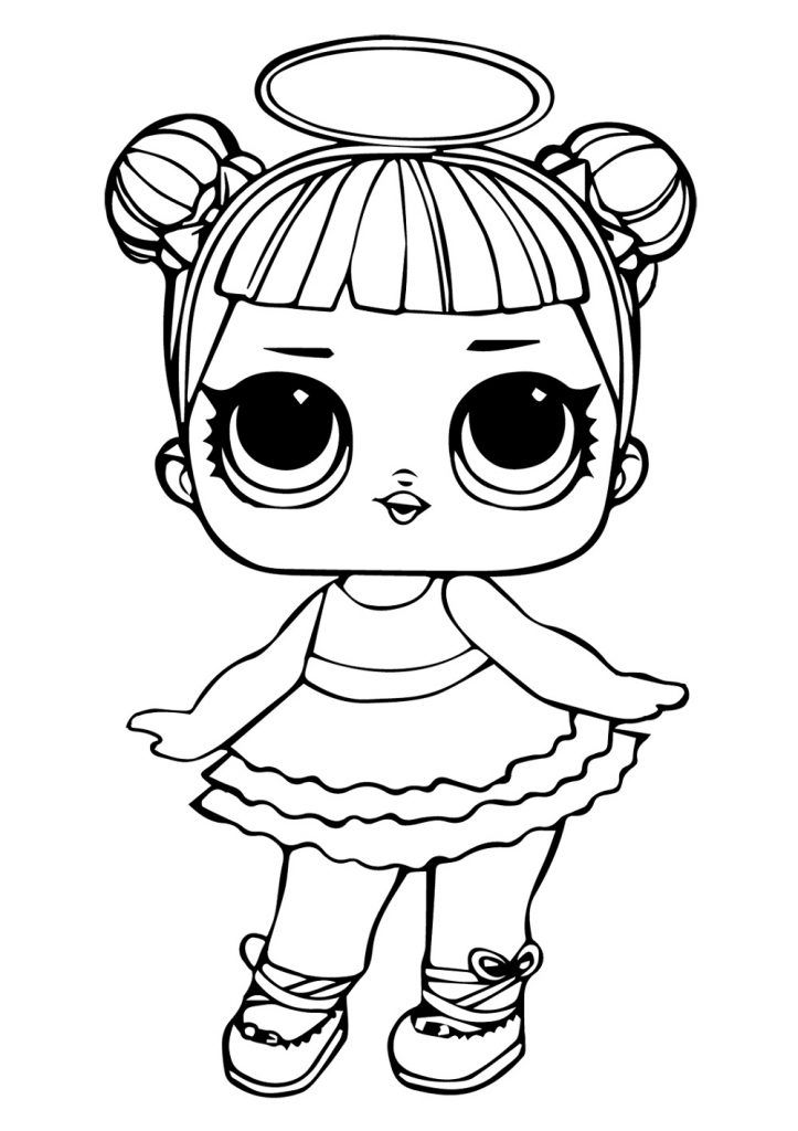 LOL Coloring Pages Baby Doll   Lol coloring, Lol surprise ...