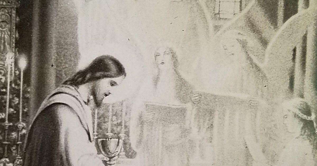 La Santa Misa Y La Institucion De La Sagrada Eucaristia Por Parte De Nuestro Senor Jesucristo Segun Sagrada Biblia Sagrada Eucaristia Santos Angeles Custodios
