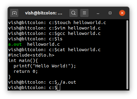 Hello, World Using All Programming Languages   Comment ...