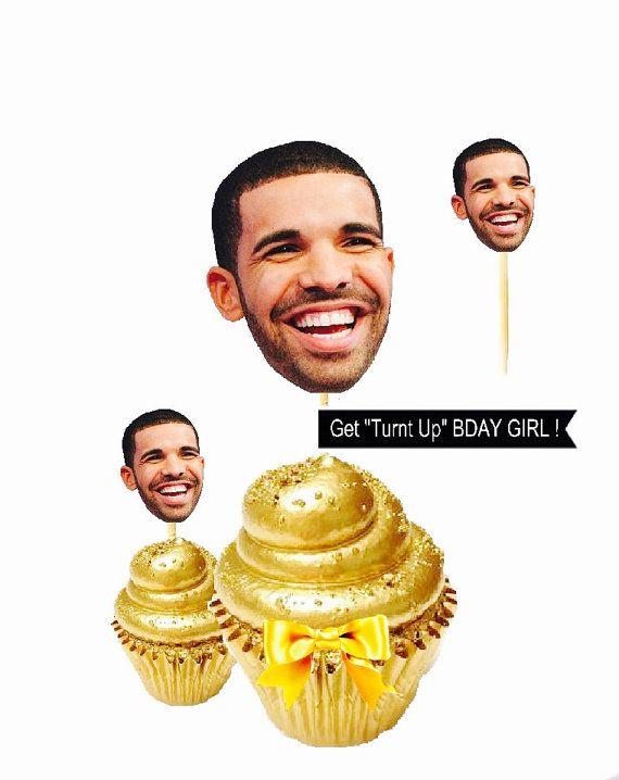 Drake Cupcake Toppers