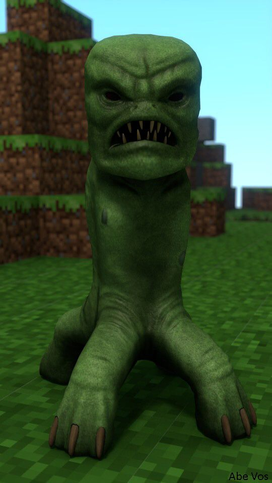 minecraft real life creepers
