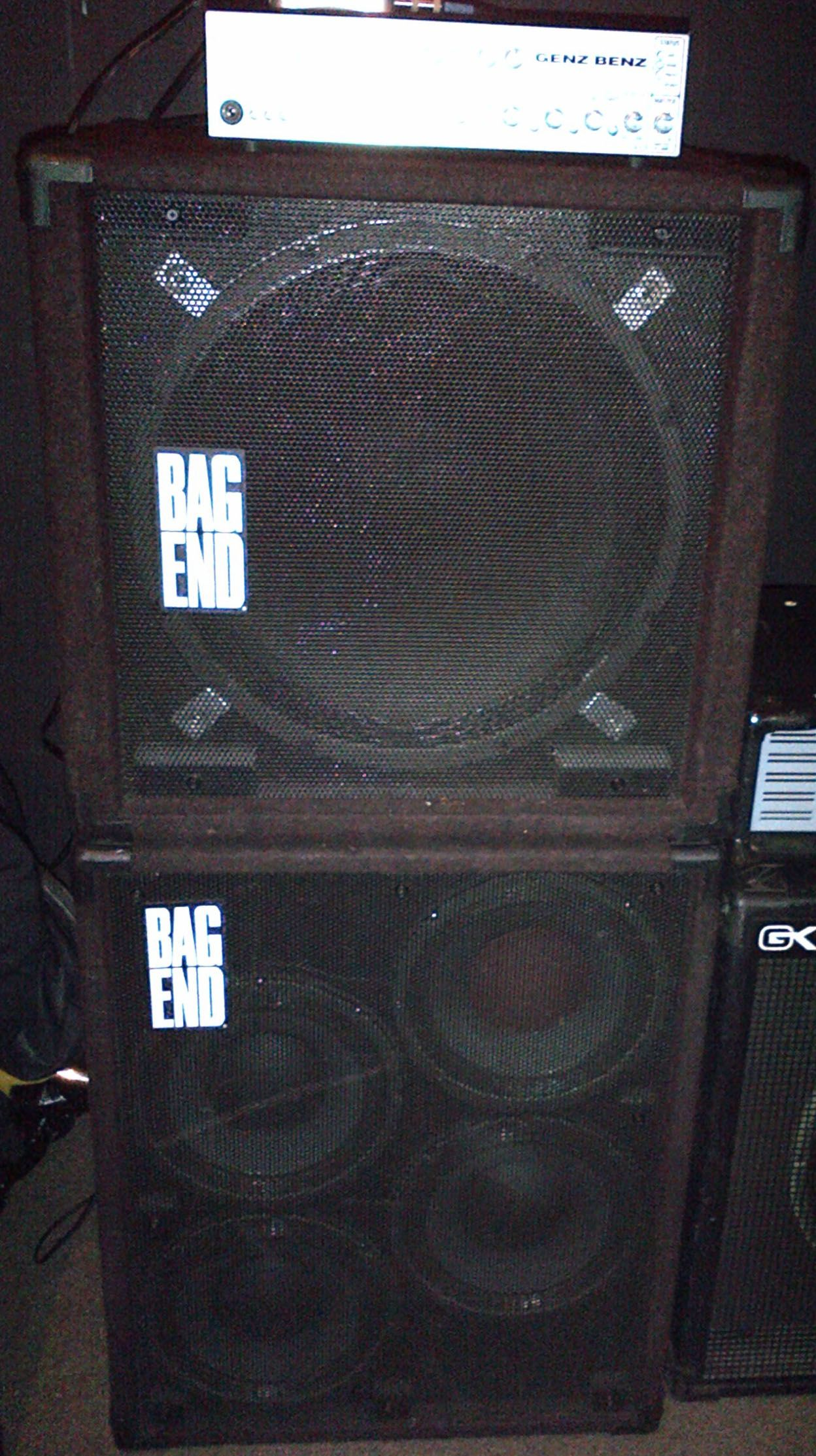 My Bag End 1x18 And 4x10 Enclosures With The Genz Benz Shuttlemax