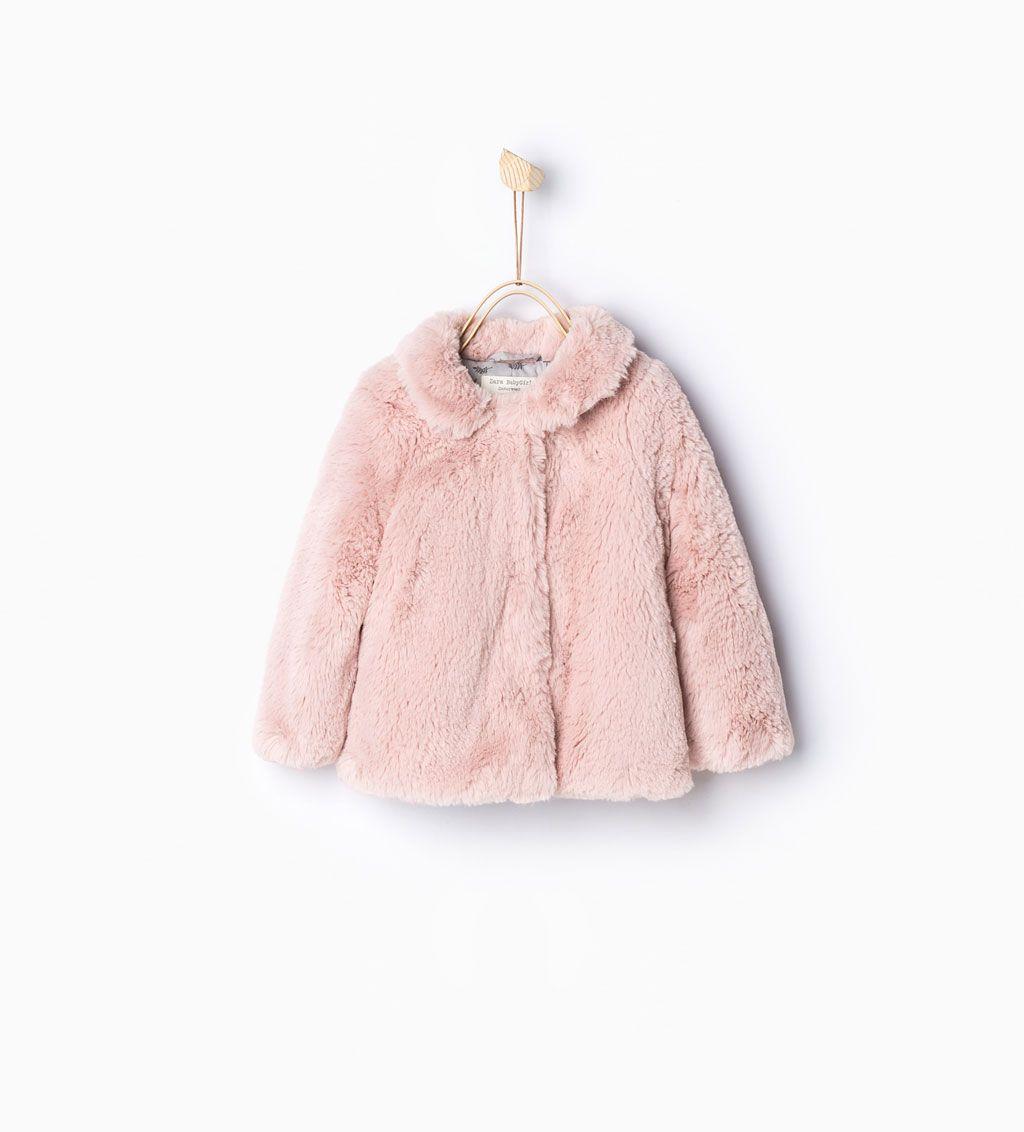 7c9277b59 Three quarter length fur coat-Coats-Baby girl | 3 months - 3 years-KIDS-SALE  | ZARA United States